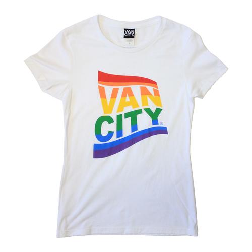 Women's Vancity® Pride Tee Shirt - White