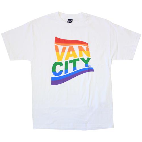 Vancity® Pride Tee - White