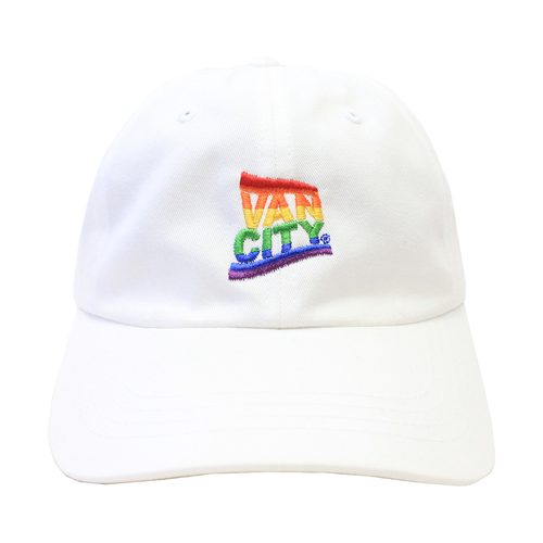 Vancity® Pride Dad Hat - White