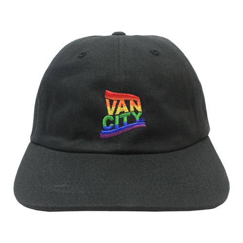 Vancity® Pride Dad Hat - Black