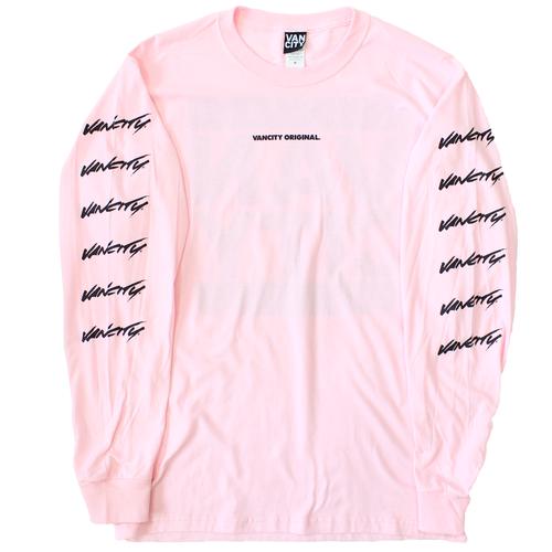 Surf Long Sleeve Tee - Pink