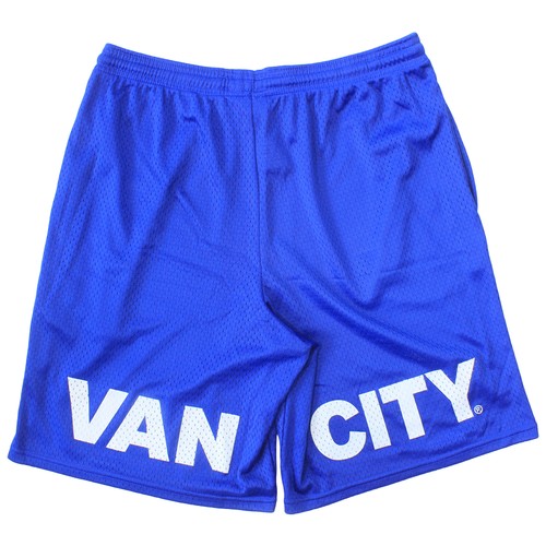 Vancity® x Champion Mesh Shorts - Royal