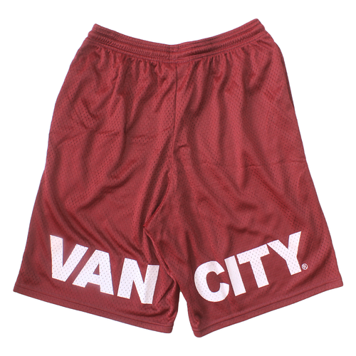 Vancity® x Champion Mesh Shorts - Burgundy