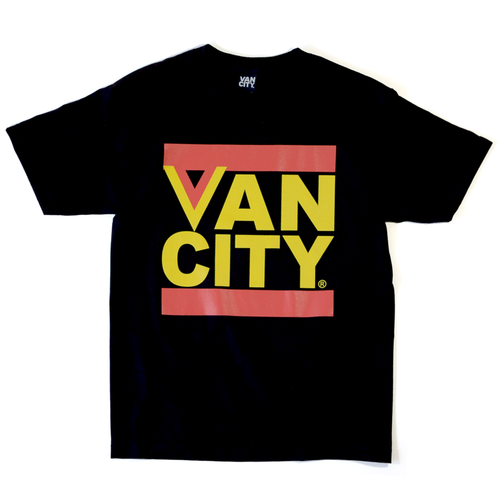 Flying V Tee - Black