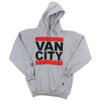Heavy Weight UnDMC Heather Grey Classic Pullover Hoodie