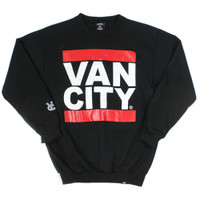 Vancity Original Heavy Weight UnDMC Black Classic Crewneck