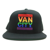 UnDMC Pride 5 Panel Snapback - Black