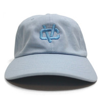 Vancity Original® VC Link Dad Hat in Baby Blue - Front