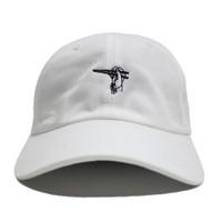 Stix God Dad Hat - White