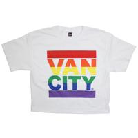 Vancity® Love Crop Tee - White