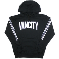 Checker Gang Hoodie - Black