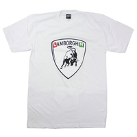 Lambo High Tee - Icy White