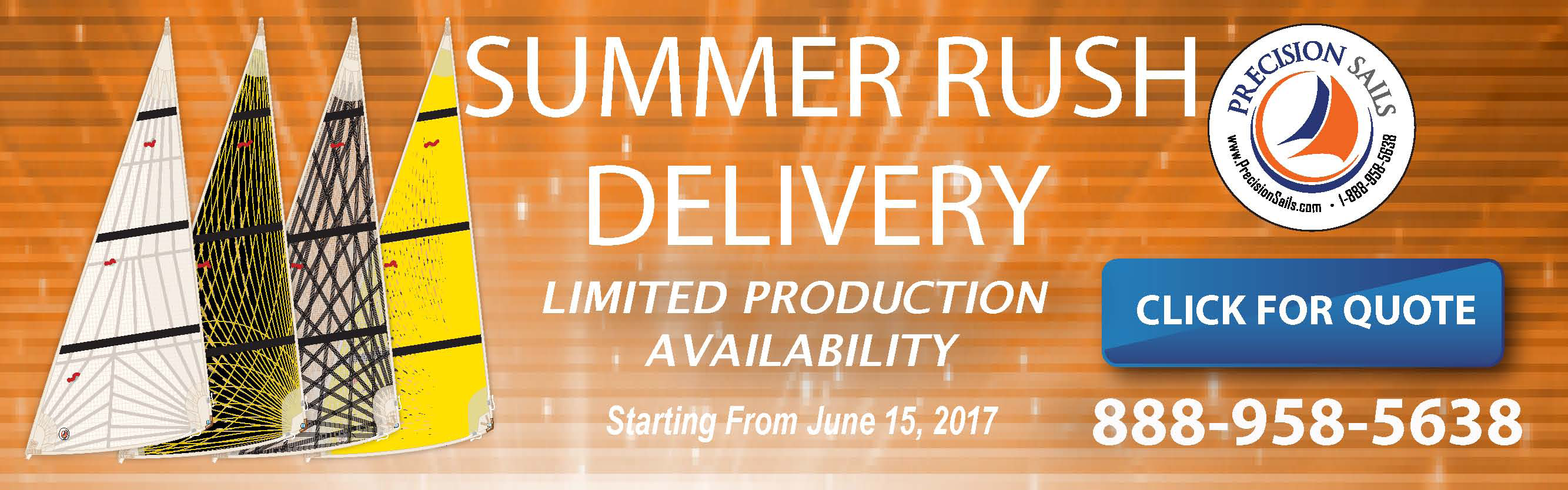 Summer Rush Delivery Available