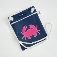 Cross-Body Skipper Bag-  CRAB