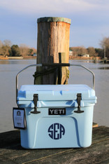 CUSTOM YETI COOLER DECALS