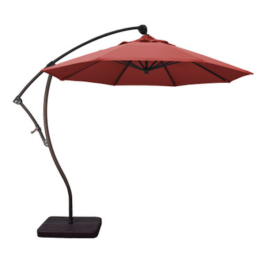 Phat Tommy 9 Ft Cantilever Offset Aluminum Market Patio Umbrella With Tilt  U2013 For Shade And Outdoor Living
