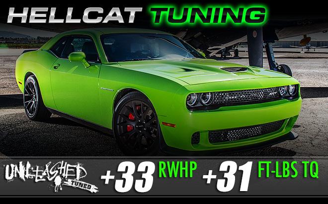 Dodge Hellcat Custom Tuning