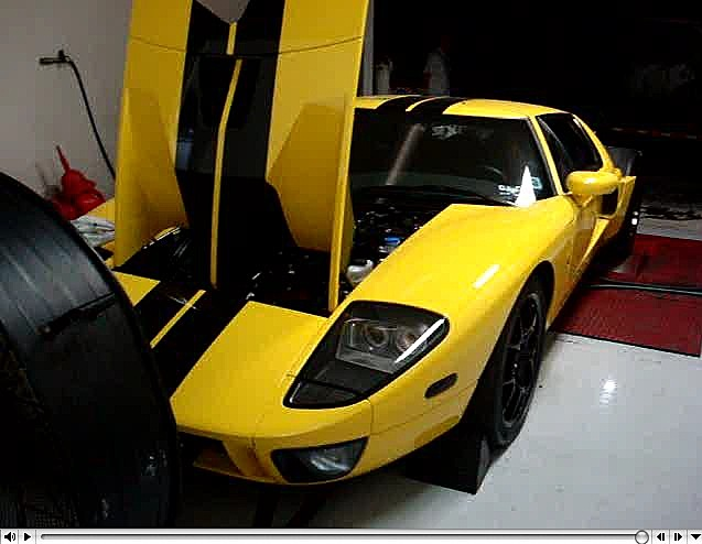 Ford GT Custom Dyno Tuning