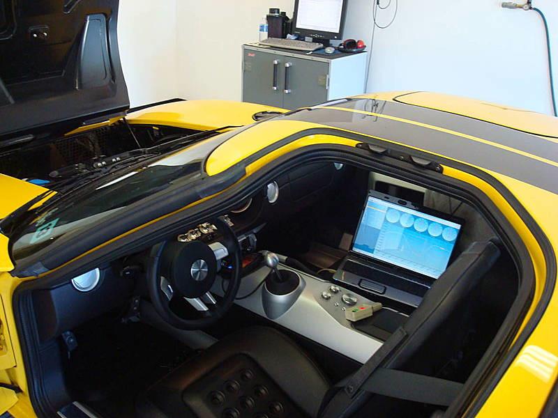 Ford GT Custom Dyno Tuning