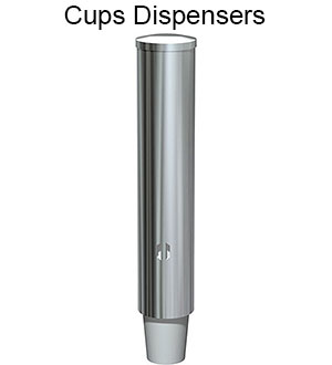 ASI Stainless Steel Cup Dispenser