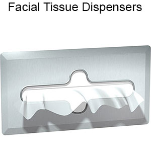 ASI Stainless Steel Facial Tissue Dispensers