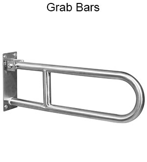 ASI Stainless Steel Grab Bars