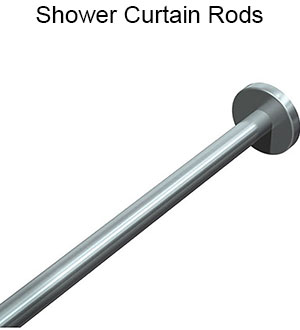 ASI Shower Curtain Rods
