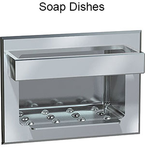 ASI Soap Dishes