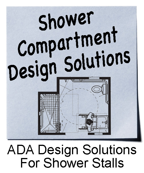 Design solutions for ADA showers