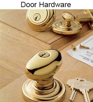 Light and heavy duty door locks, levers, deadbolts and handle sets