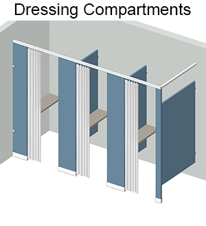 dressing-compartments