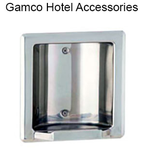 We sell Gamco hotel accessories
