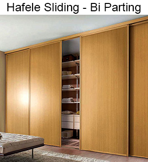 Hafele Pocket Doors Hafele RP 42 Pocket Door Slide System Set