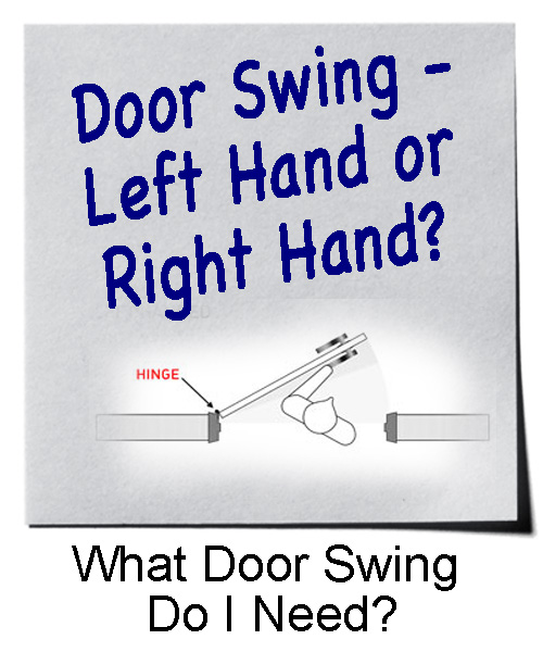 Door Handing and Door Swing Guide