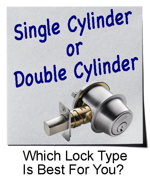 Single and Double Cylinder Door Locks