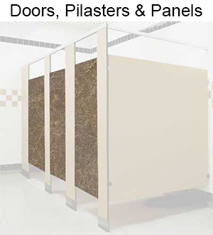 restroom-partition-doors-pilasters-panels