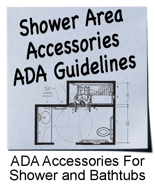 Shower Area Accessories | ADA Guidelines