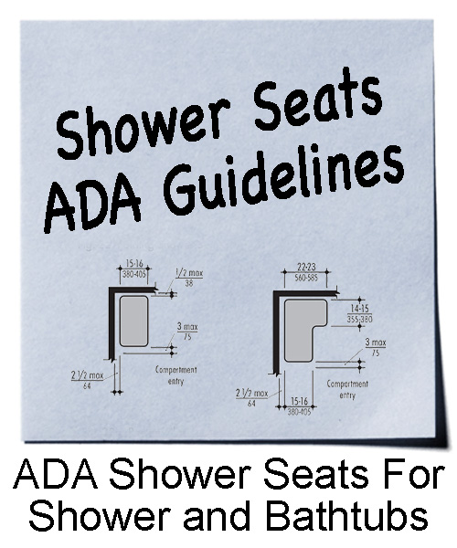 Shower Seats | ADA Guidelines