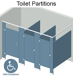 Bathroom Partitions Materials bathroom partition materials | what is the difference - harbor