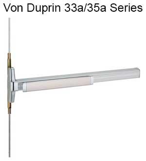von-duprin-33a35a-series-exit-device