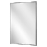Bobrick Channel Frame Mirror