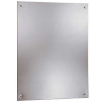 Bobrick Stainless Steel Frameless Mirror