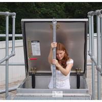 JL Industries Ladder Mount Safety Post