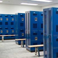 Lockers and Storage