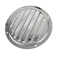 Louvre Vent Air Ventilator Grill Round Stainless Steel Marine Grade 316 DK86