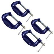 "3"" Heavy Duty G Clamp (4 Pack) C Grip  Holder Clasp Vice TE295"