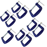 "4"" Heavy Duty G Clamp (10 Pack) Grip Holder Clasp Vice TE296"