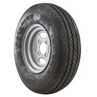 "Trailer Wheel Rim and Tyre 5.00 x 10 6 PLY 4"" PCD 78N Tubeless 4 Stud TRSP40"