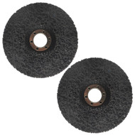 115mm Clean And Strip Disc Rust Paint Welding Spatter Removal Angle Grinder 2pk