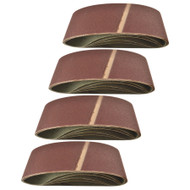 Belt Power Finger File Sander Abrasive Sanding Belts 457mm x 75mm 120 Grit 20 PK